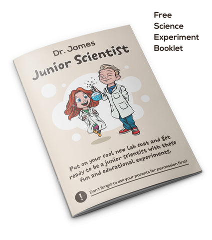 kids lab coat for science students
