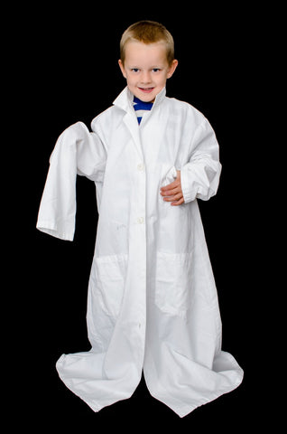what size lab coat should i get answered with long sleeves