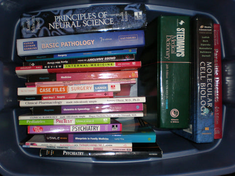 text books medical school