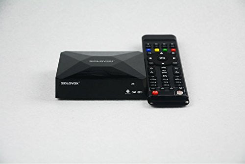 SOLOVOX A6 Android Box MINI Smart TV box Dual core 1G/4G Android 4.4.2 TV Box 802.11 b/g/n WiFi KODI