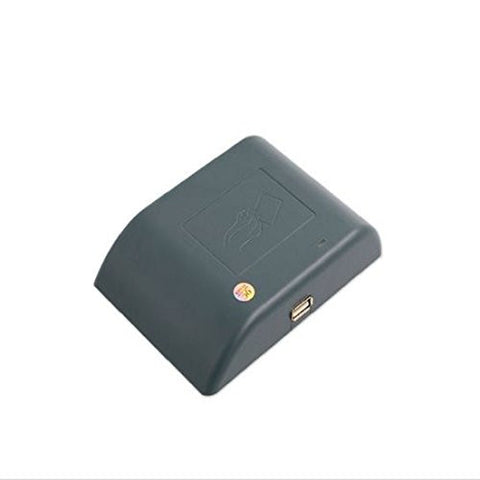 RFID 125khz desktop card reader with usb interface with 8 digit hex output format provide free sample cards free shipping