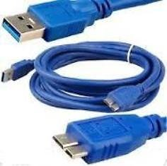 USB 3.0 Data Cable Cord for Wd My Book Passport Essential External Hard Disk HDD (Blue)