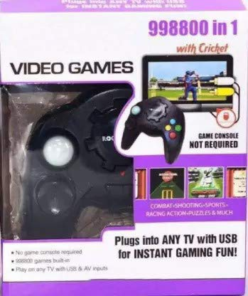 PremiumAv Video Games - 98000 in 1 TV Game Present Gift for Kids