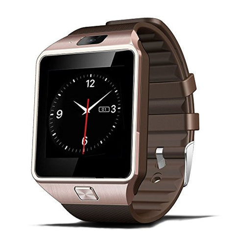 Trendy Bluetooth Smart Watch Wrist Watch Phone with Camera & SIM Card Support