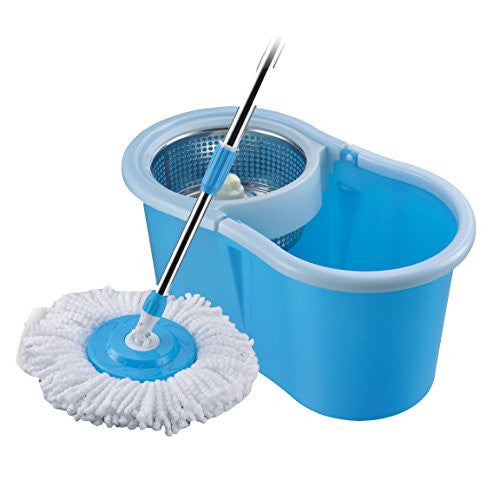 Trendy Steel Mop Bucket 360 Spin Magic Degree
