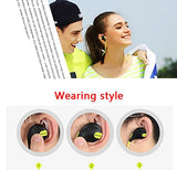 jogger Bluetooth Headset Compatible with Iphones, IPads, Samsung and other Android Devices,Red