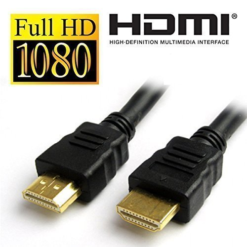 PremiumAV 4K Ultra HD HDMI Male to Male Cable (3 MTR, Black)