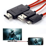 Memore MHL Micro USB to Hdmi 1080p Hdtv Adapter Cable for Samsung Galaxy S5/S4/S3/Note