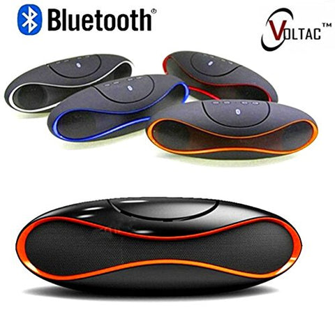 VOLTAC` ™ Mini-X6U Portable Wireless Bluetooth Rugby Style Mobile/Tablet Speaker Pattern #209436