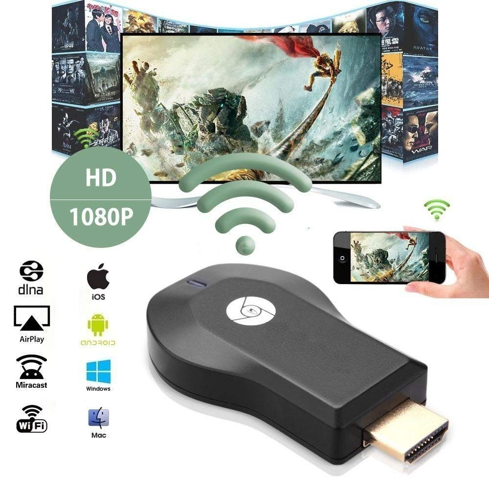 PremiumAV Wi-Fi HDMI Dongle Wireless Display (Black)