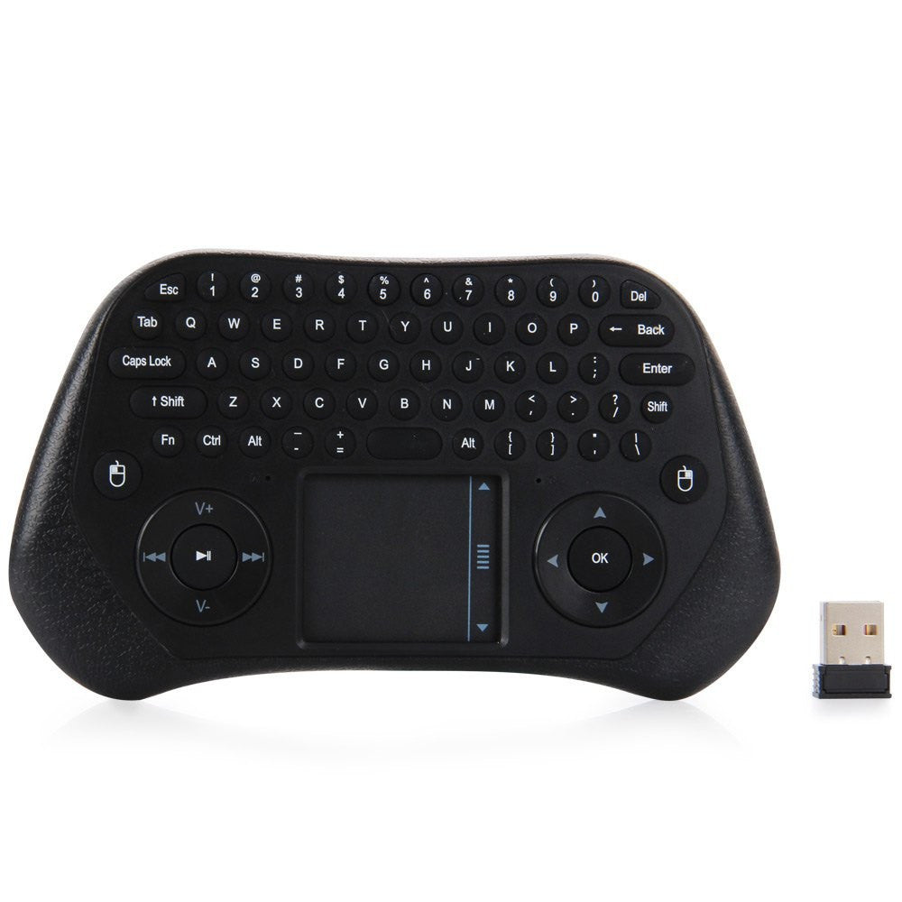 New MEASY GP800 2.4GHz Wireless Keyboard Air Smart Mouse Tochpad Remote Control for TV Box / Laptop / Tablet PC