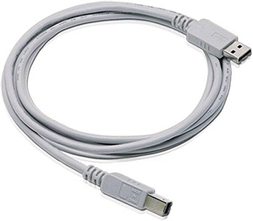PremiumAV 1.5-Meter USB Printer Cable (White)