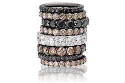 Black Diamond, Cognac Diamond and White Diamond Bands