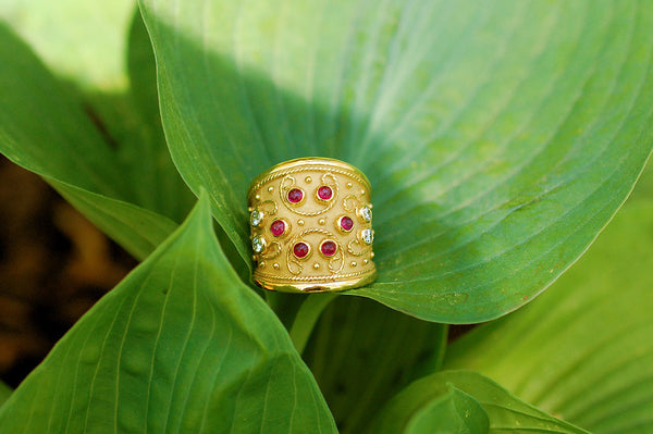 Etruscan Style Ring