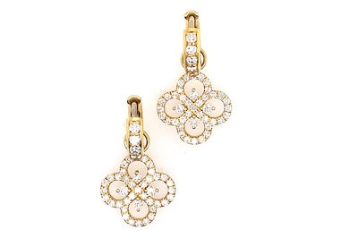 Catherine Clover Charm Earrings