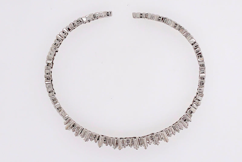Scattered Baguette Diamond Bracelet