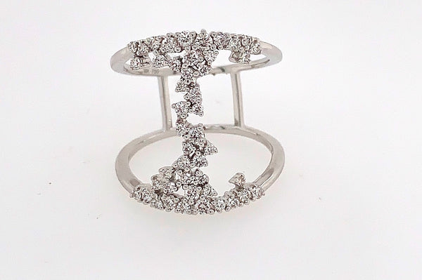 Diamond Waterfall Ring