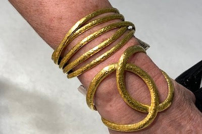 Wrap around 24kt Cuff