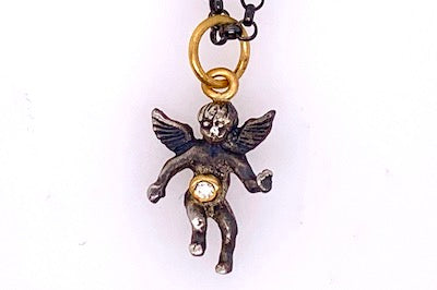 Cherub Charm Necklace