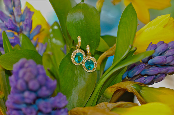 Apatite Charm Earrings