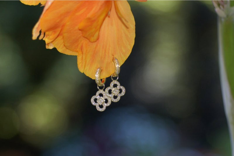 Clover Charm Earrings