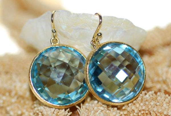 Santorini Blue Earrings