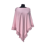 Womens knitted poncho | Classic knitted poncho for women