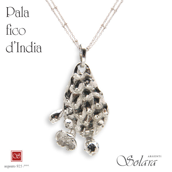 Pala Fico d'India - brunita (*  non comprende la collana)