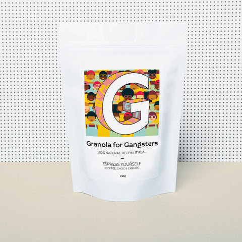 LIMITED EDITION | Espress Yourself (coffee, choc & cherry) granola 250g