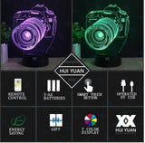 Canon Camera 3D LED Lamp