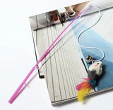 Cat Wire Chaser Wand Teaser Toy