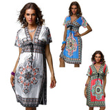Hippie Boho Summer Beach Dress