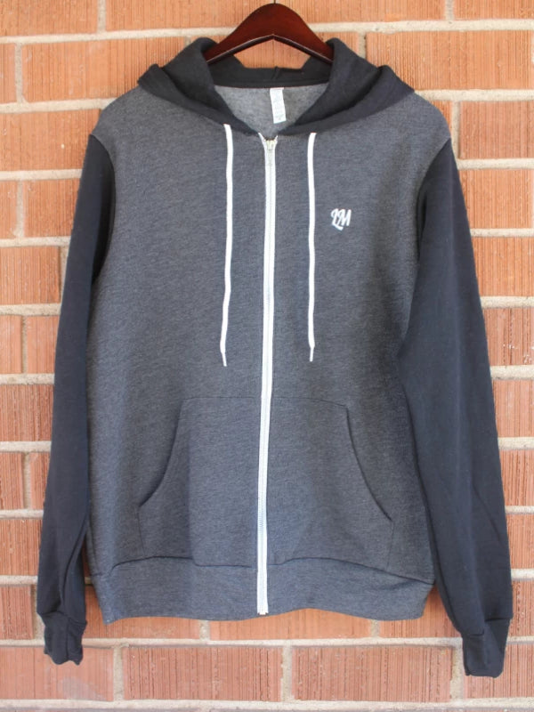 Black & Grey Live Moore Hoody