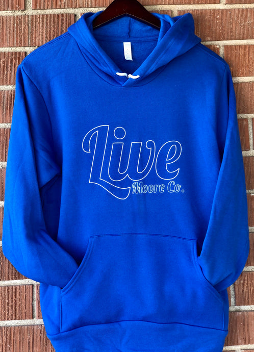*NEW* Reverse Live Moore Blue Hoody