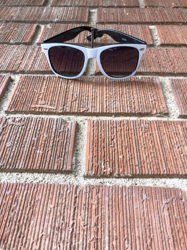 White Live Moore Sunglasses
