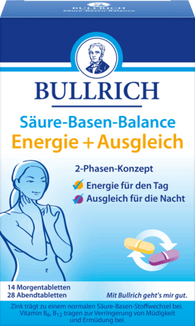 Acid-base balance energy & balance 42 pieces, 69.3 g - Bullrich