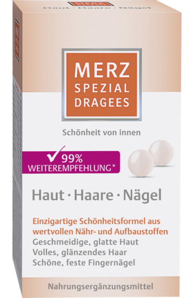 Merz Special Dragees Skin Hair Nails, 120 Dragees - Merz