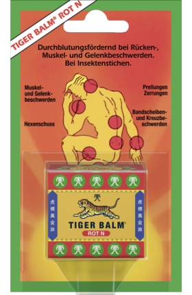 Original Tiger Balm red N, 19.4 g - Tiger Balm