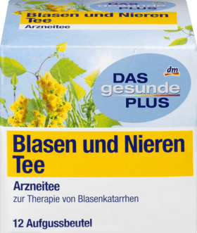 Bladder and kidney tea, 12 x 1.5 g, 18 g -  Das Gesunde Plus