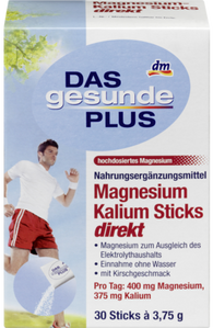 Magnesium potassium sticks, 30 Sticks - Das gesunde Plus