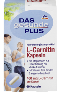 L-Carnitine Capsules for muscle function and energy metabolism, 60 capsules - Das gesunde Plus