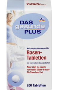 Base Tablets, 200 Tablets - Das Gesunde Plus