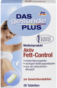 Active fat control, 28 tablets - Das gesunde Plus
