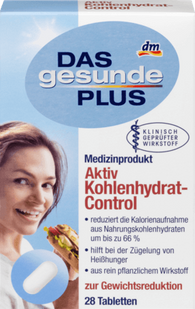 Active Carbohydrate Control, 28 tablets - Das gesunde Plus