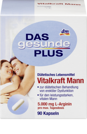 Vital force men capsules, 90 Capsules -  Das Gesunde Plus