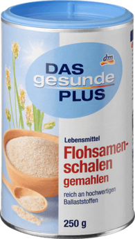 Fleaseed husks grounded 250 g - Das gesunde Plus