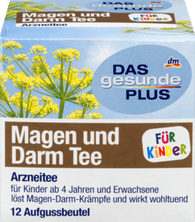 Gastrointestinal Tea FOR CHILDREN 12 x 2.2 g, 26.4 g - Das gesunde Plus
