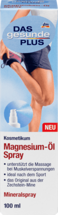 Magnesium oil spray, 100 ml - Das gesunde Plus