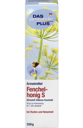 Fennel Honey S, Syrup, 350 g - Das gesunde Plus