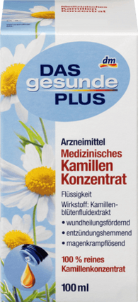 Medical Camomile Concentrate, 100 ml - Das gesunde Plus